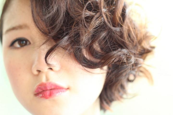中目黒・代官山の美容室 オシャレなニュアンスパーマスタイル