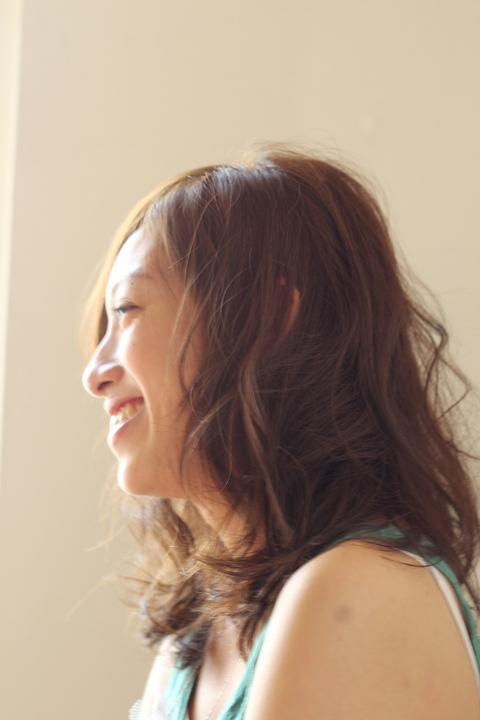 中目黒・代官山の美容室 大人のリラックスアレンジスタイル