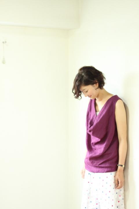 中目黒・代官山の美容室 大人に似合うアレンジパーマスタイル