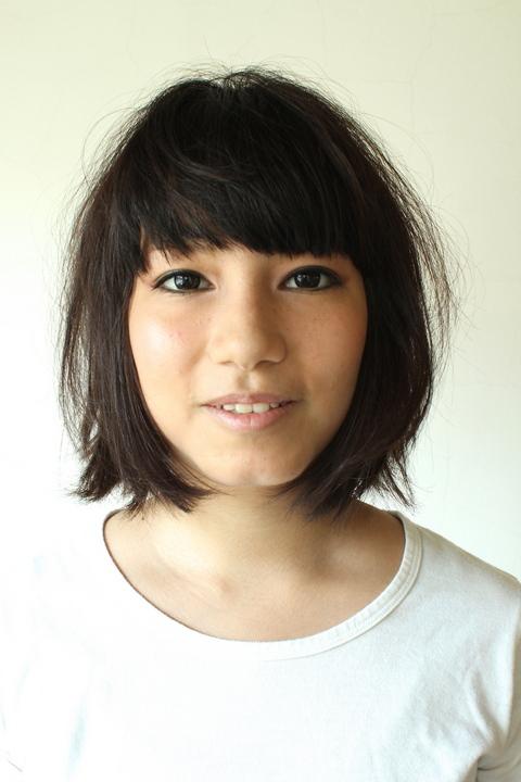中目黒・代官山の美容室 黒髪が自然になじむ大人のボブスタイル